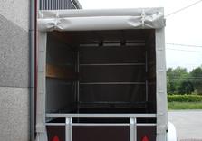 Cadre et bâche pour remorque TWINS de 257 Cm x 132 Cm x 120 Cm intérieur - AR00188