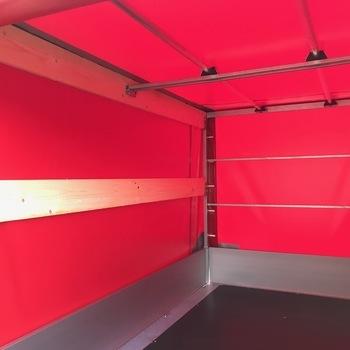 Cadre et bâche pour remorque EDUARD de 260 Cm x 150 Cm x 150 Cm intérieur  - AR00292