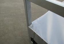 Bache plate pour remorque KERENZO de 150 Cm x 100 Cm - AR00245