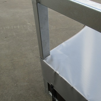 Bache plate pour remorque KERENZO de 175 Cm x 100 Cm - AR00092