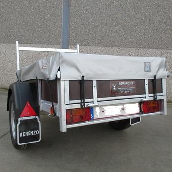Bache plate pour remorque KERENZO de 200 Cm x 110 Cm - AR00246
