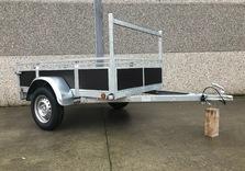 Remorque simple essieu KERENZO - 200 Cm x 132 Cm - AR00373