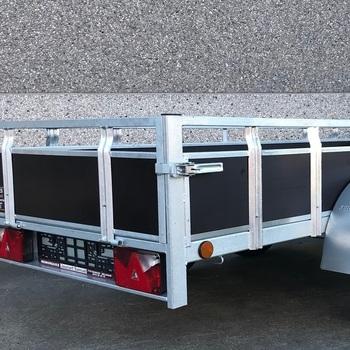 Remorque double essieux KERENZO - 200 Cm x 132 Cm - AR00377