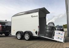 Roadster 500 - Double essieux - De 1100 Kg à 2000 Kg - 320 x 167 x 200 Cm intérieur - AR00646