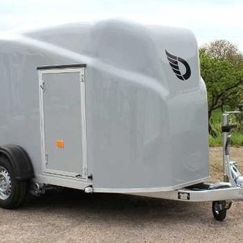 Cargo 1300 - Simple essieu - De 750 Kg à 1300 Kg - 300 x 148 x 156 Cm intérieur - AR00644