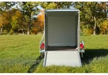 Roadster 255 - Simple essieu - De 750 KG à 1300 Kg - 255 x 125 x 155 Cm intérieur - AR00643