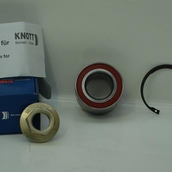 Roulement KNOTT - 750 Kg sans frein - AR00297