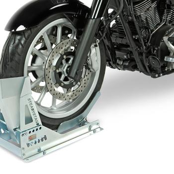 Bloque roue moto ACEBIKES - FIXE à boulonner - multi réglages - AR00501