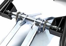 Bloque roue moto ACEBIKES à poser - multi réglages - AR00364