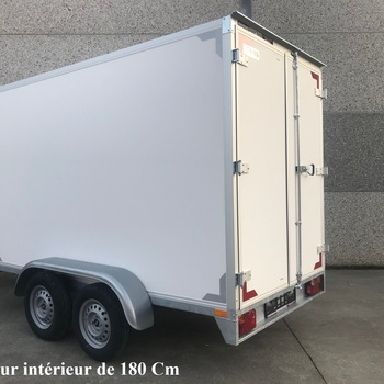 Fourgon KERENZO double essieux - 200 x 132 x HI 150 Cm - AR00165