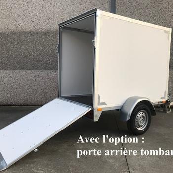 Fourgon Twins simple essieu - 200 x 132 x HI 150 Cm - AR00618
