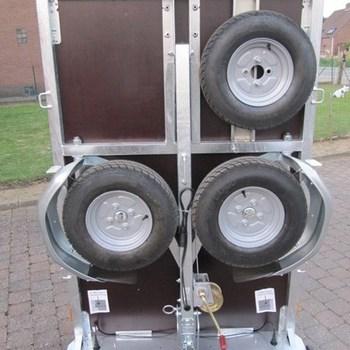 Support de roue de réserve pour remorque Walltrailer W750 - AR00344