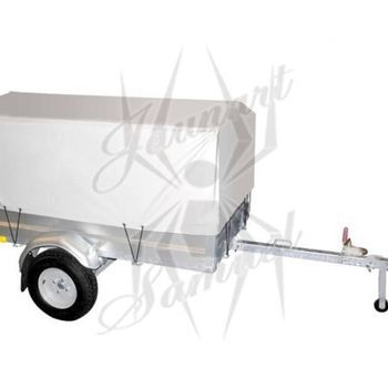 Bâche haute d'origine pour remorque Walltrailer W750 - AR00335