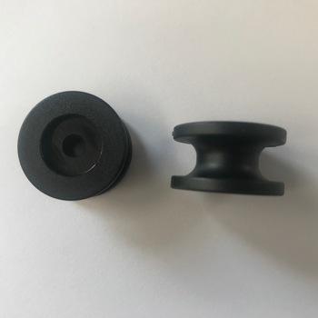 Poulie en ABS noir pour tendeur élastique - AR00308