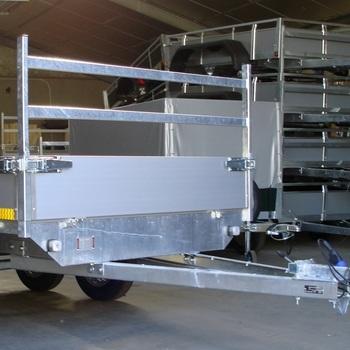 Porte échelle pour plateau EDUARD de 160 cm de large - AR00057
