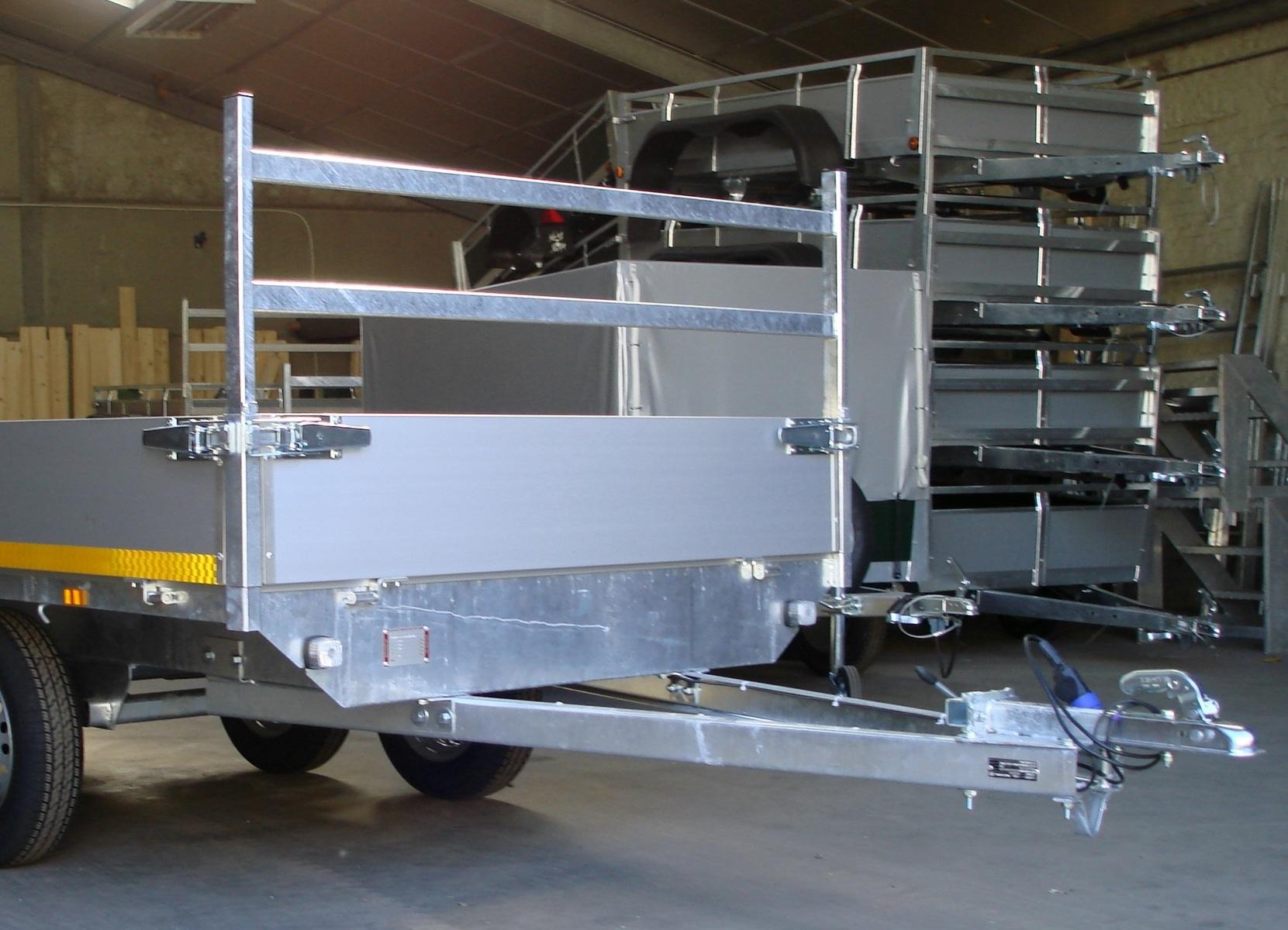 Porte échelle pour plateau EDUARD de 150 cm de large - AR00275