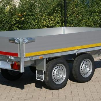Remorque plateau Eduard 260 x 150 Cm , 750 Kg sans frein - AR00063