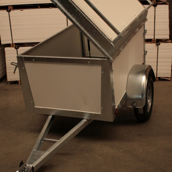 Remorque à bagage simple essieu 150 x 110 CM - AR00776