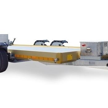 LIFTER FB 35  - 3500 Kg freinée - Abaissement hydraulique - 370 x 167 Cm - AR00884