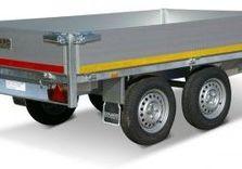 Remorque plateau Eduard 310 x 160 Cm , 750 Kg sans frein - AR00056