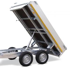 Benne basculante Eduard 260 x 150 Cm , 750 Kg sans frein - AR00615