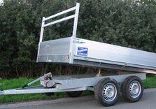 Benne basculante Kerenzo 262 x 150 Cm , 750 Kg sans frein - AR00989