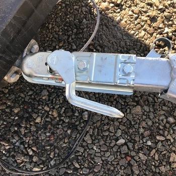 Tête d' attelage pour tube 60/60 mm avec poignée latérale - AR01019