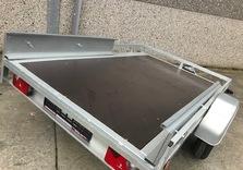 Porte QUAD simple essieu 250 x 150 Cm