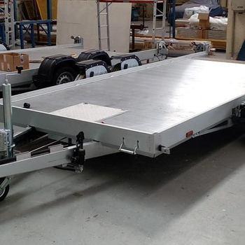 LIFTER FB II 35 L  - 3500 Kg freinée - Abaissement hydraulique - 450 x 185 Cm - AR00559